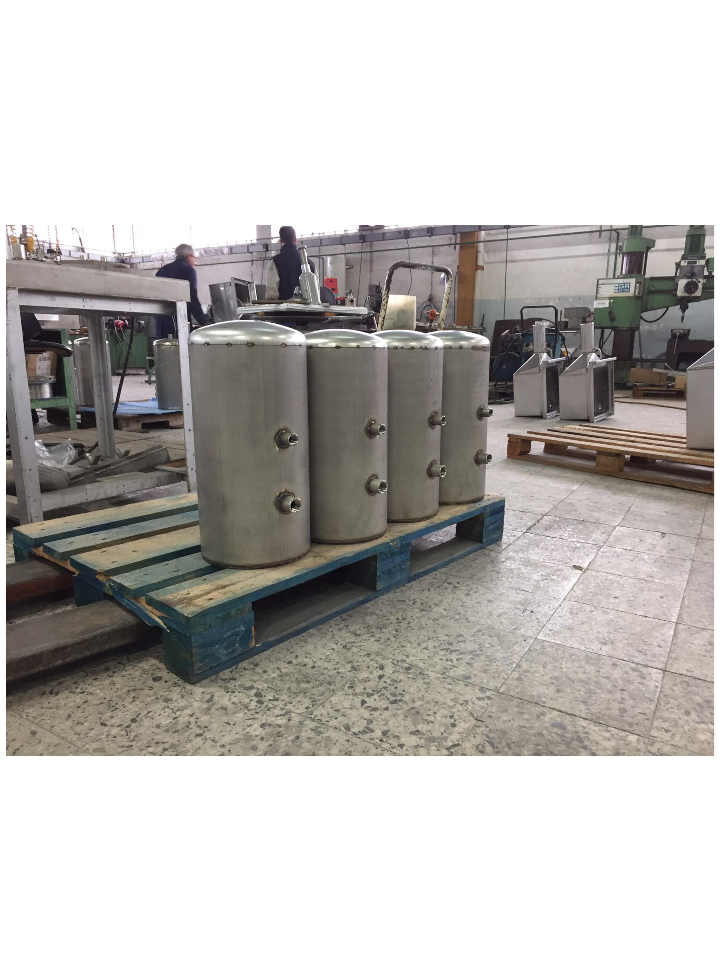 Usine AJC - Fabrication Cuves