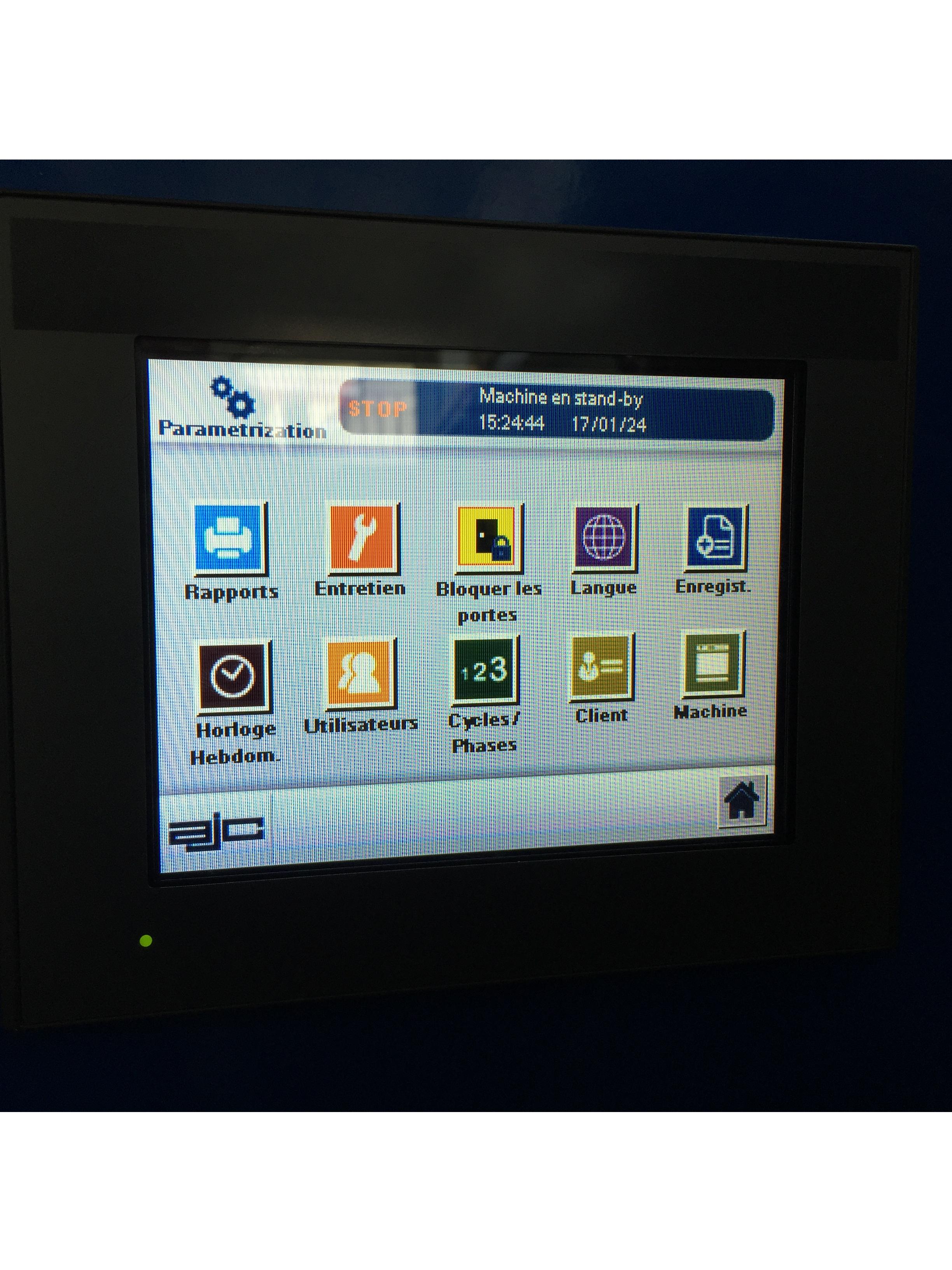 Interface Autoclave AJC