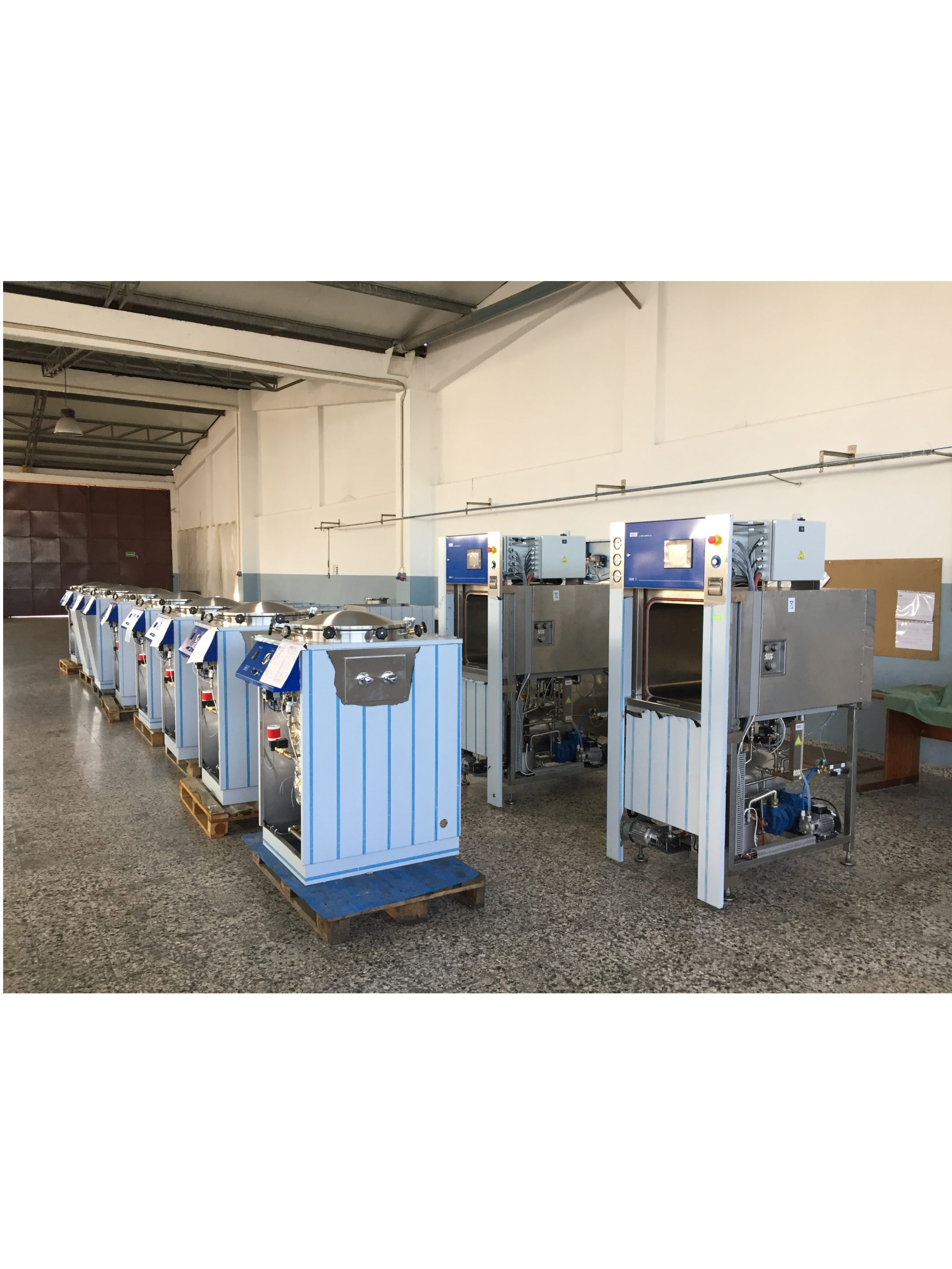 AJC - Steam sterilizers