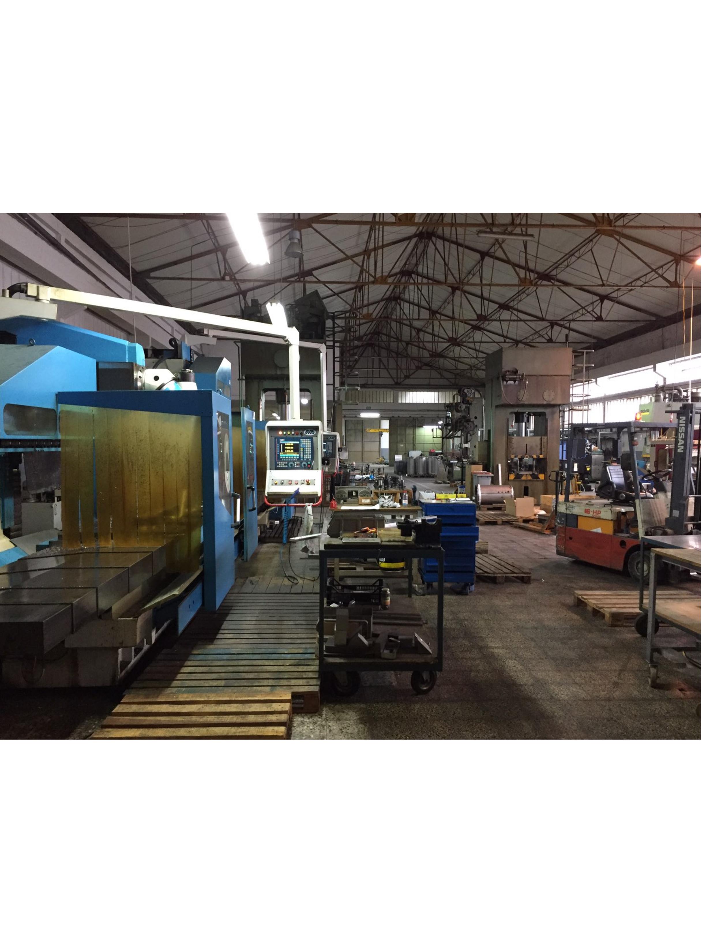 Usine AJC - Fabrication